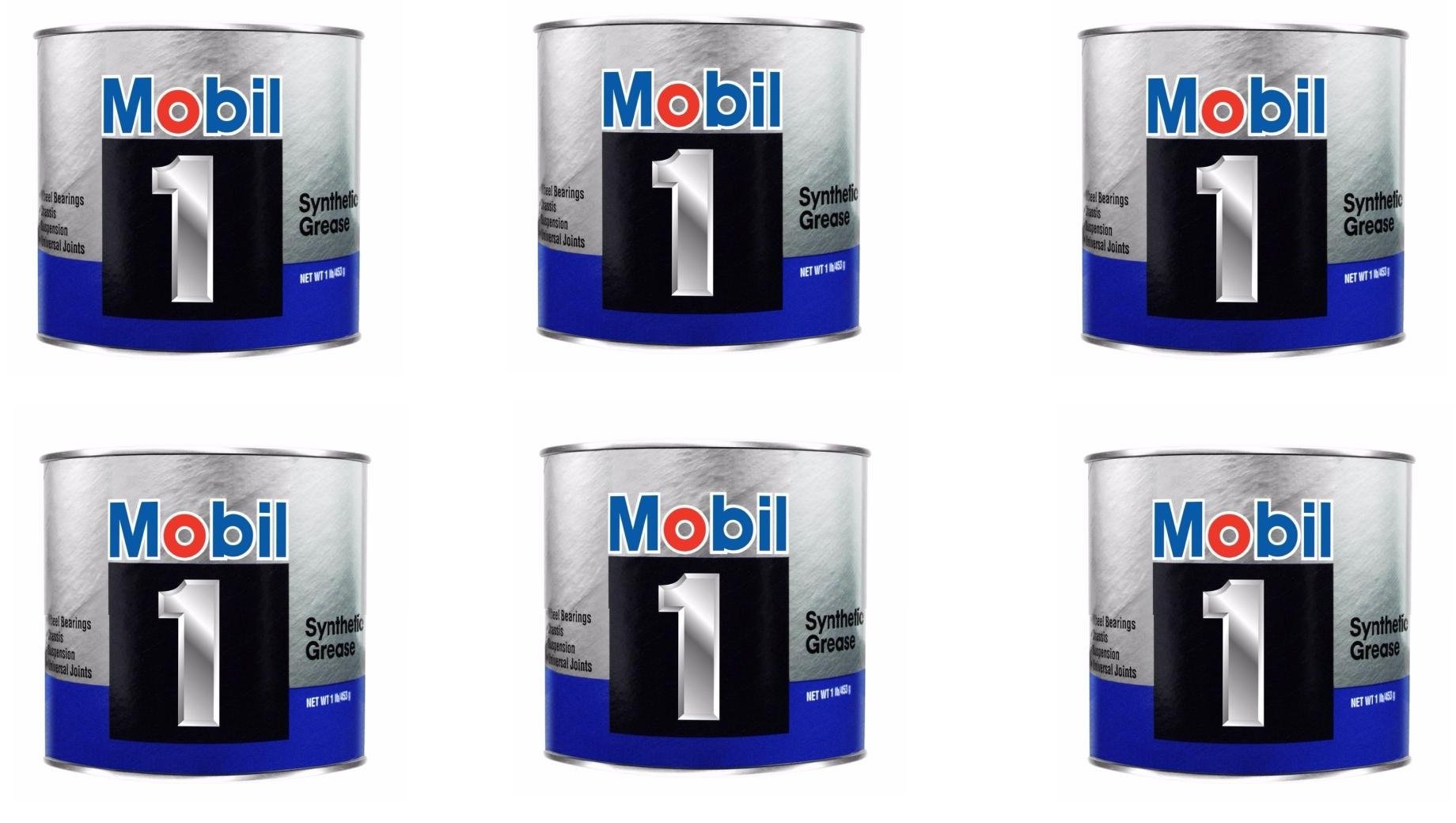Mobil 1 ® Synthetic Grease, 16 oz. (102481) (6)