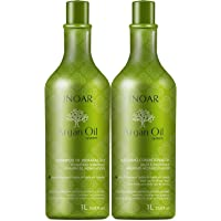 Kit Shampoo e Condicionador Argan Oil Hidratante, Inoar, 1000 ml