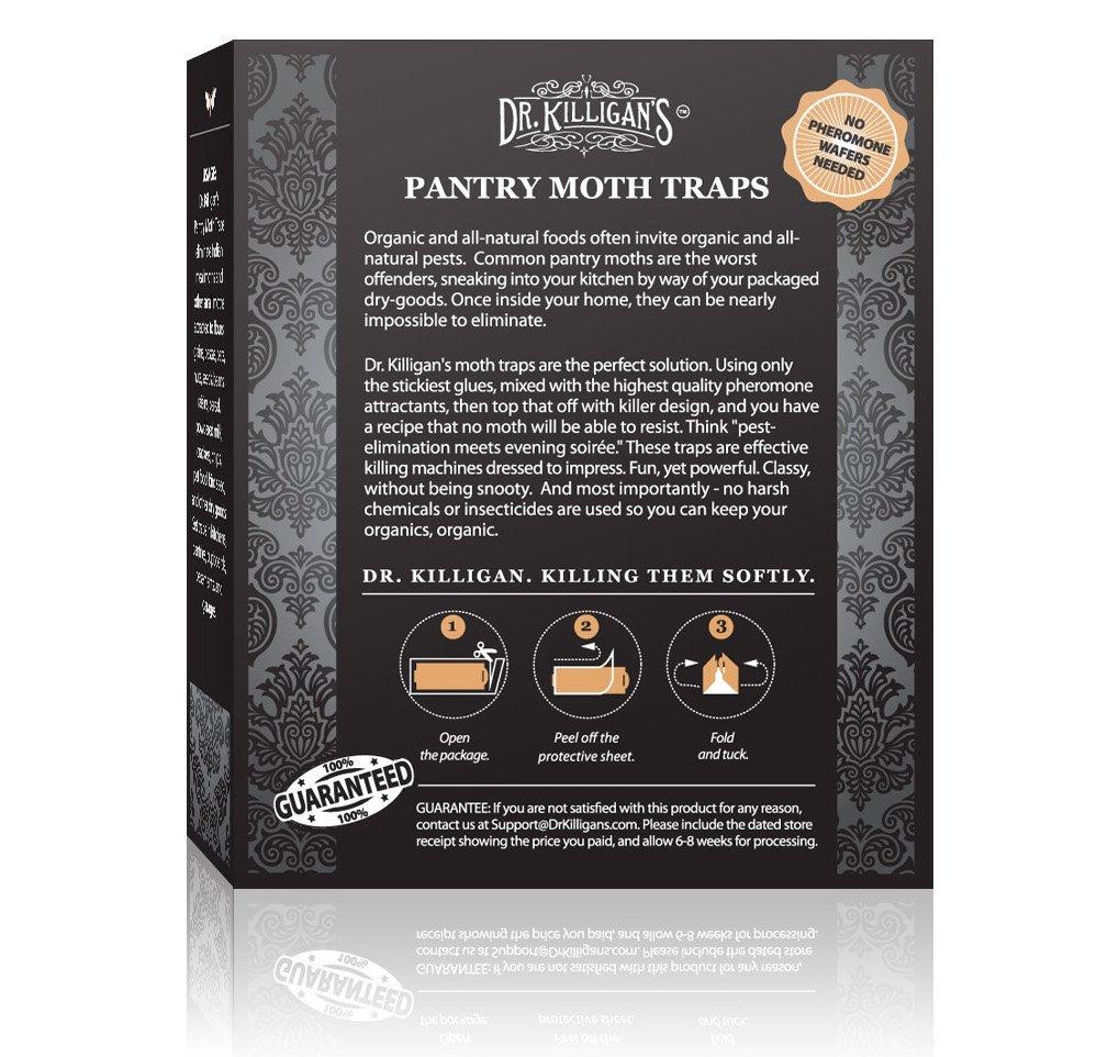 Amazon.com : Dr. Killigan's Premium Pantry Moth Traps With ...