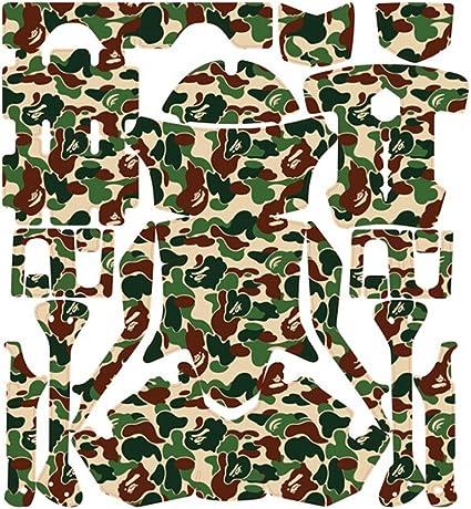 Teal Camo Clover  decal Sticker