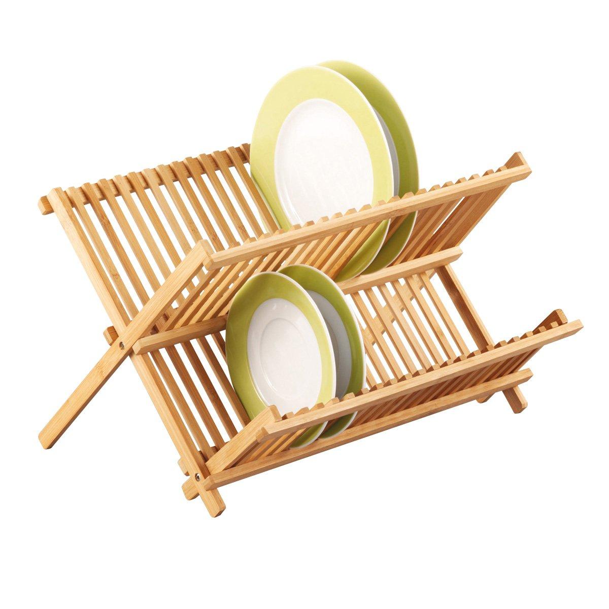 Zeller 25341 Scolapiatti in bambù, 42 x 35 x 27.5 cm Zeller Present Handels GmbH