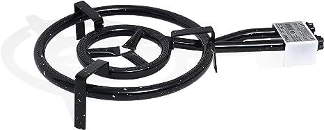 Ringg Paella quemador multifuncional – 40 cm quemador de gas ...