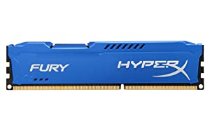 Kingston HyperX FURY 8GB 1600MHz DDR3 CL10 DIMM - Blue (HX316C10F/8)