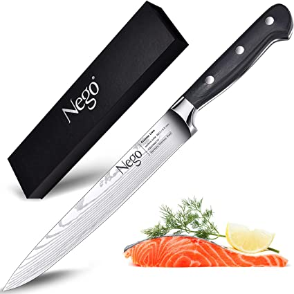 ✅ Coltello da cucina professionale Chef 24cm giapponese Stainles carne verdura