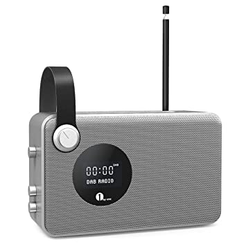 1byone DAB Radio Mit Bluetooth Lautsprecher, Kabellos Und Besonders  Kompakt, FM Tuner/