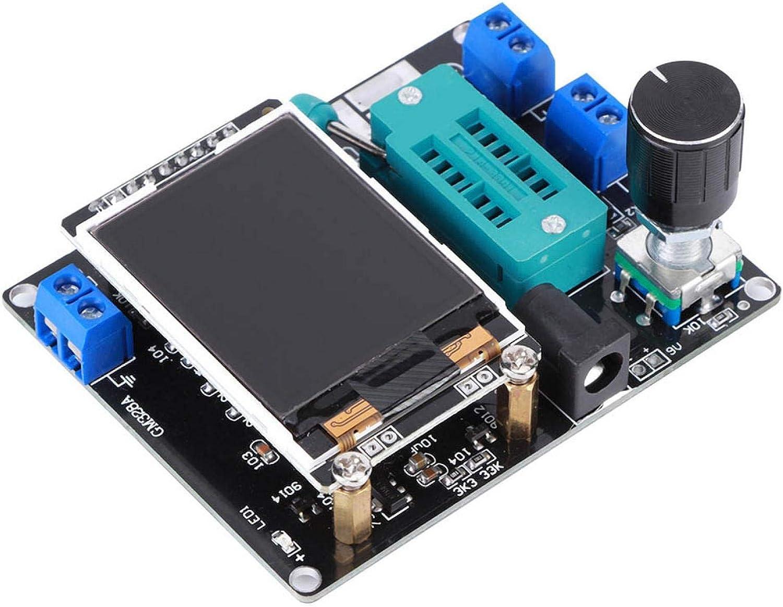 und PNP-Transistoren Industrie Kleines Volumen NPN PNP Hochgenauer GM328 Transistortester Widerstand Induktivit/ätskapazit/ätsmesser ESR-Meter mit Geh/äuse f/ür NPN