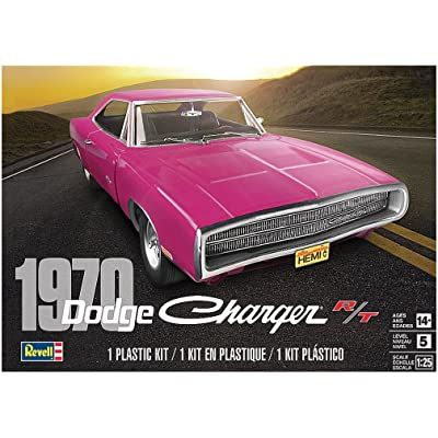 Revell 70 Dodge Charger R/T Skill 5, Multi: Toys & Games