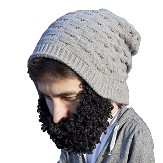 65c5857a29c Amazon.com  Beard Head - The Original Curly Beckett Knit Beard ...