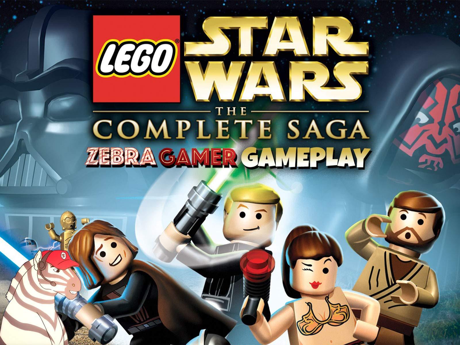 Clip: Lego Star Wars The Complete Saga Gameplay - Zebra Gamer - Season 1