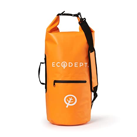 d2f7f7d1bf ECOdept Waterproof Dry Bag Backpack for Outdoors and Watersports ~ 20L  Desert Sand