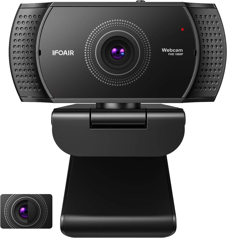 Webcam Plug&Play con cubierta de privacidad por sólo 14,69€ marcando aplicar cupón y usando el #código: YVY4VJZY