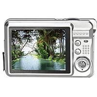 Internet 18 Mega Pixels CMOS 2.7 inch TFT LCD Screen HD 720P Digital Camer Silver