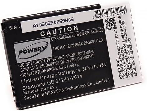 Batería para smartphone LG ms395, 3,8 V, ion de litio: Amazon.es ...