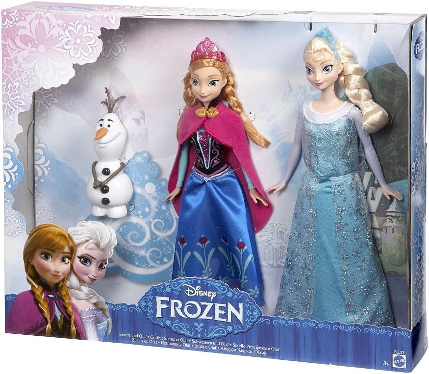 Amazon.es: Mattel Frozen - Pack Muñecas: Juguetes y juegos