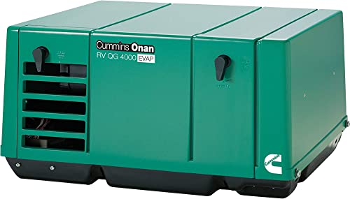 Cummins Onan Quiet Series Gasoline RV Generator – 4.0 kW, CARB and EPA Compliant, Model Number 4.0KY-FA 6747