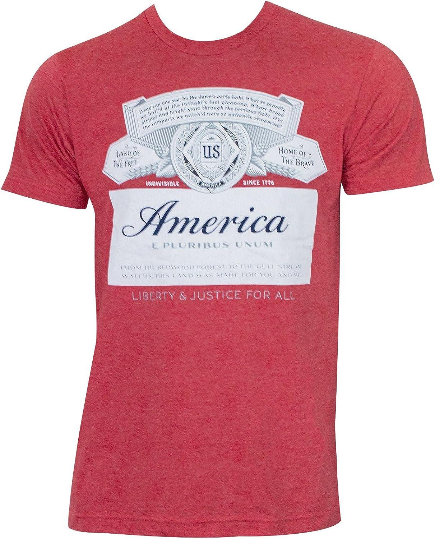 Budweiser America Tee Shirt Red