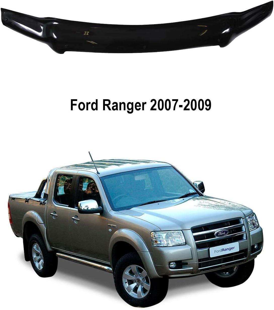 Classic Black A-Technic Haubenabweiser f/ür Ford Ranger 2007-2009