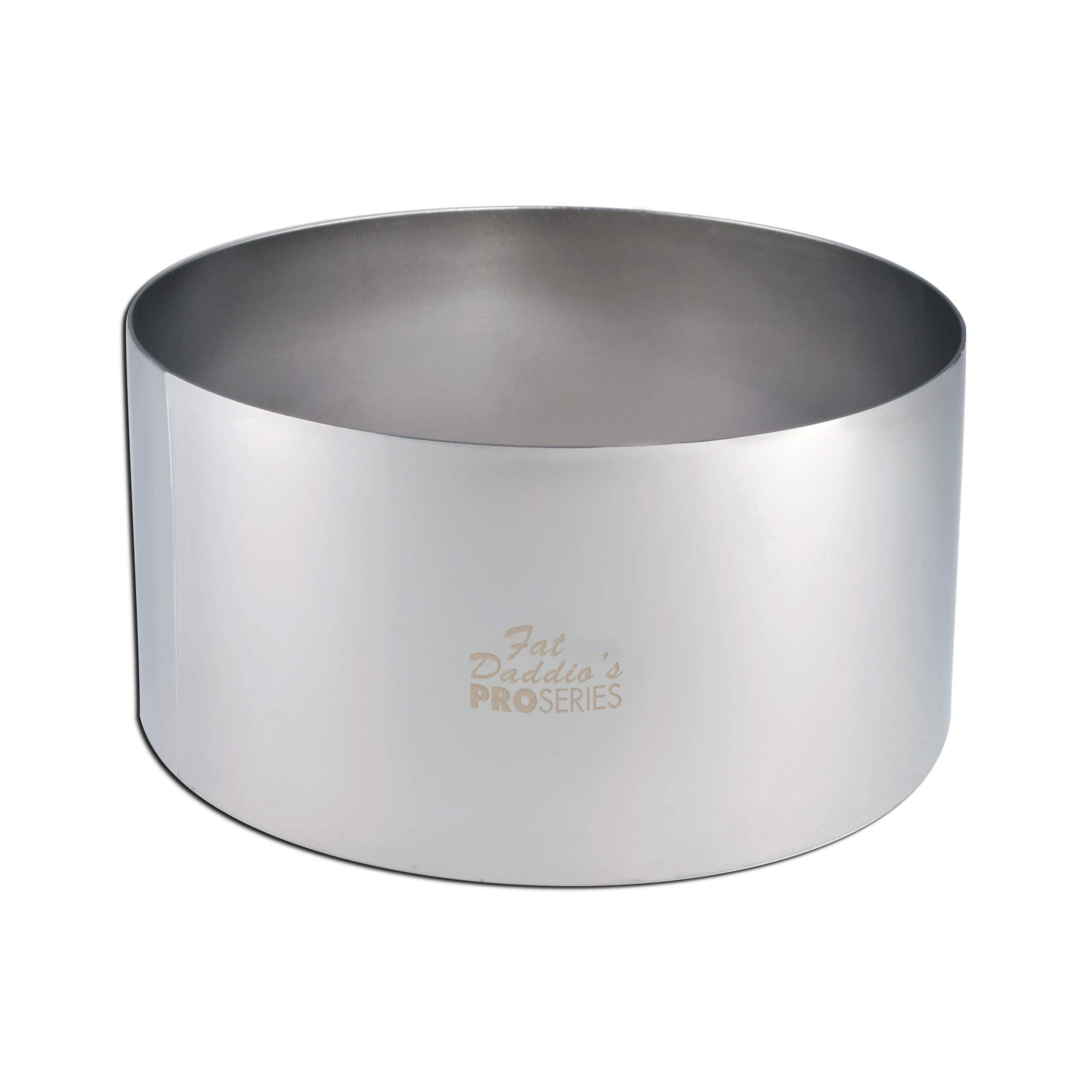 Fat Daddio's Stainless Steel Round Cake & Pastry Ring, 6 x 3 Inch by Fat Daddios (Image #2)