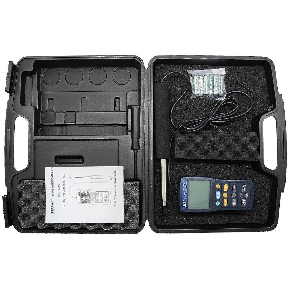 TES 1340 Hot-Wire Anemometer - - Amazon.com