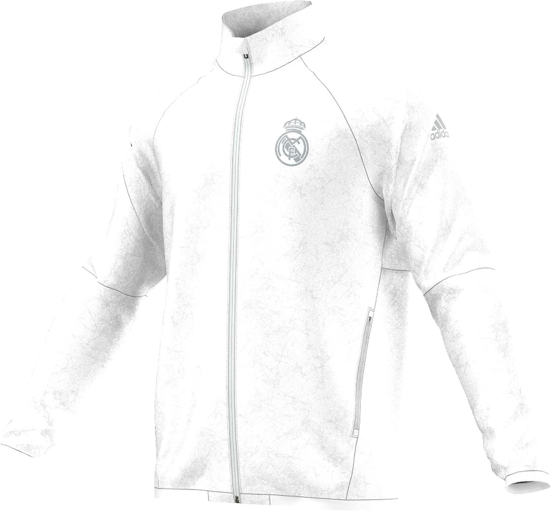 adidas Real Madrid St WOV Jkt Chaqueta, Hombre: Amazon.es: Ropa y ...