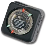 Kichler 15557BK, Outdoor Enclosure Timer, Black