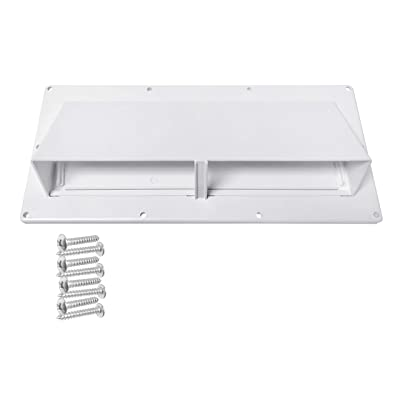 Camp'N RV Exhaust Vent Cover - RV Range Hood Vent/RV Range Hood Cover (White): Automotive