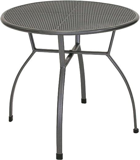 Ribelli Tisch Ø80x74cm hoch Gartentisch Esstisch Terassentisch Essgruppe