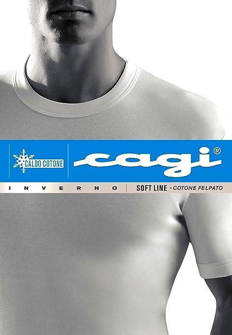7553817312 CAGI 3 T-Shirt Maglia Uomo Intimo Manica Corta Art 1310 Cotone ...