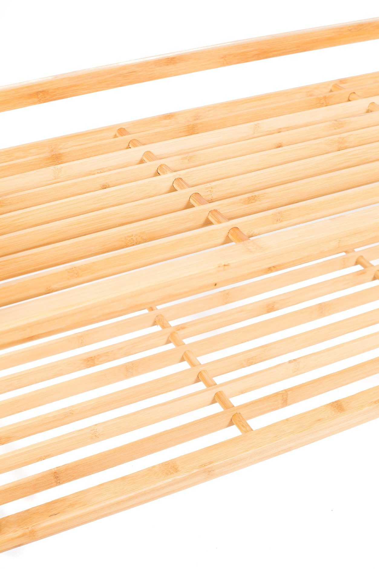 BirdRock Home 2-Tier Bamboo Shoe Rack | Environmentally Friendly | Fits 6-8 Shoes by BirdRock Home (Image #2)