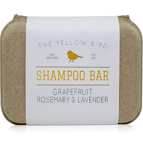 The Yellow Bird Solid Shampoo Bar