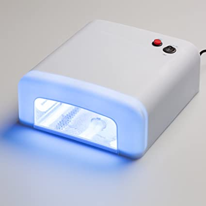 Lampada Uv Per Unghie 36 W Asciugatrice Per Unghie Con Timer Per Gel