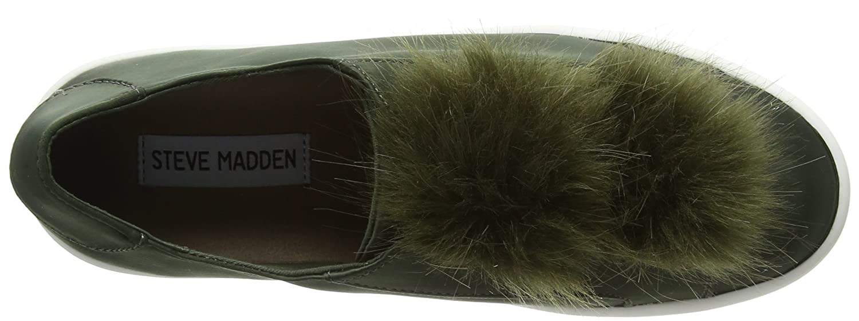 Steve Madden Damen Damen Damen Breeze Sneaker, Silber, Schuhgröße Grün (Olive Satin) a6fd75