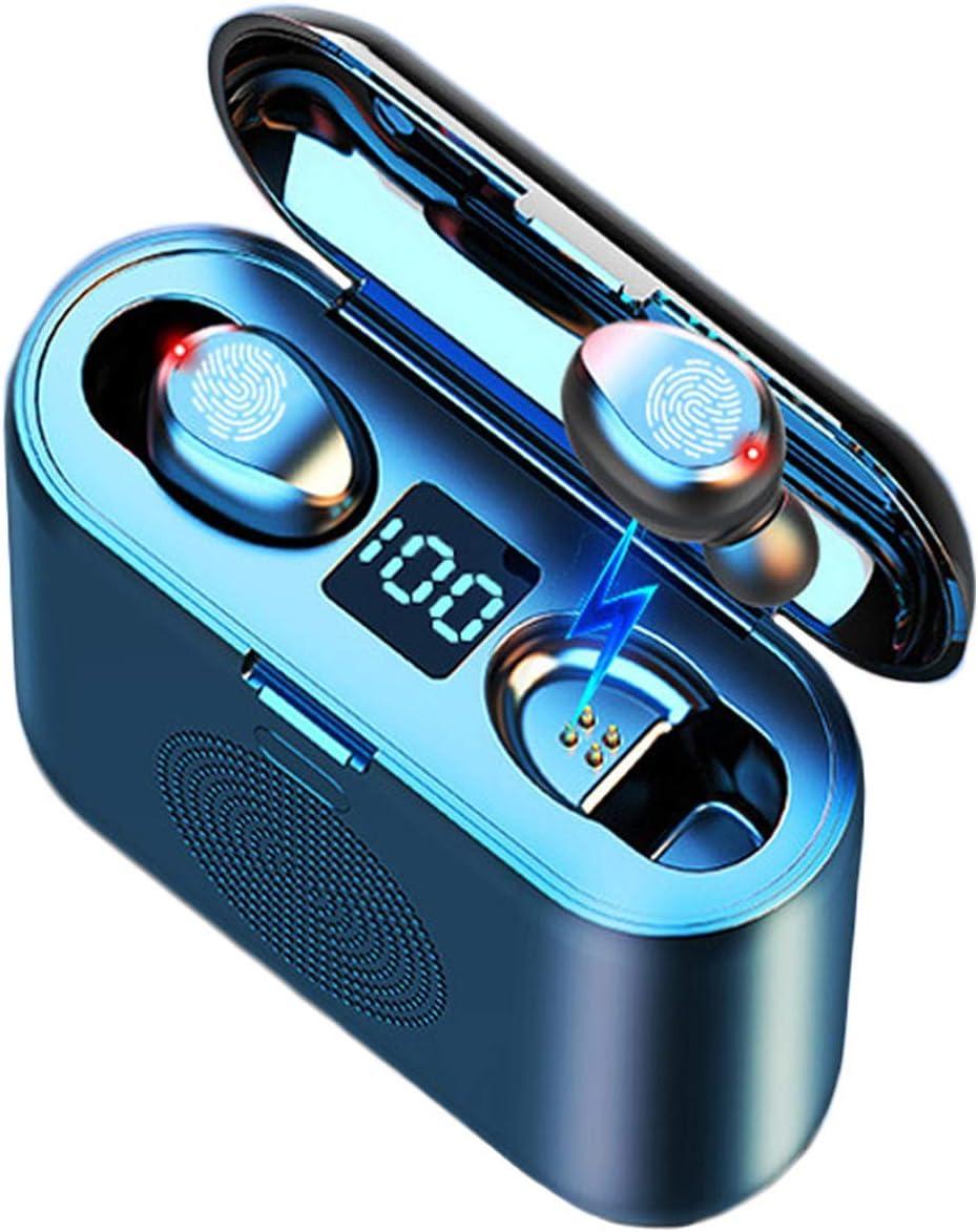 Auriculares Inalambricos BuBu 3en1,Auriculares Bluetooth,Altavoz Bluetooth,Bateria Externa Movil,Soporte Movil,Cascos Inalambricos con Microfono Incorporado,TWS Deporte