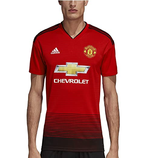 4a6d971c2f4 Amazon.com : adidas Soccer Manchester United FC Home Jersey : Clothing