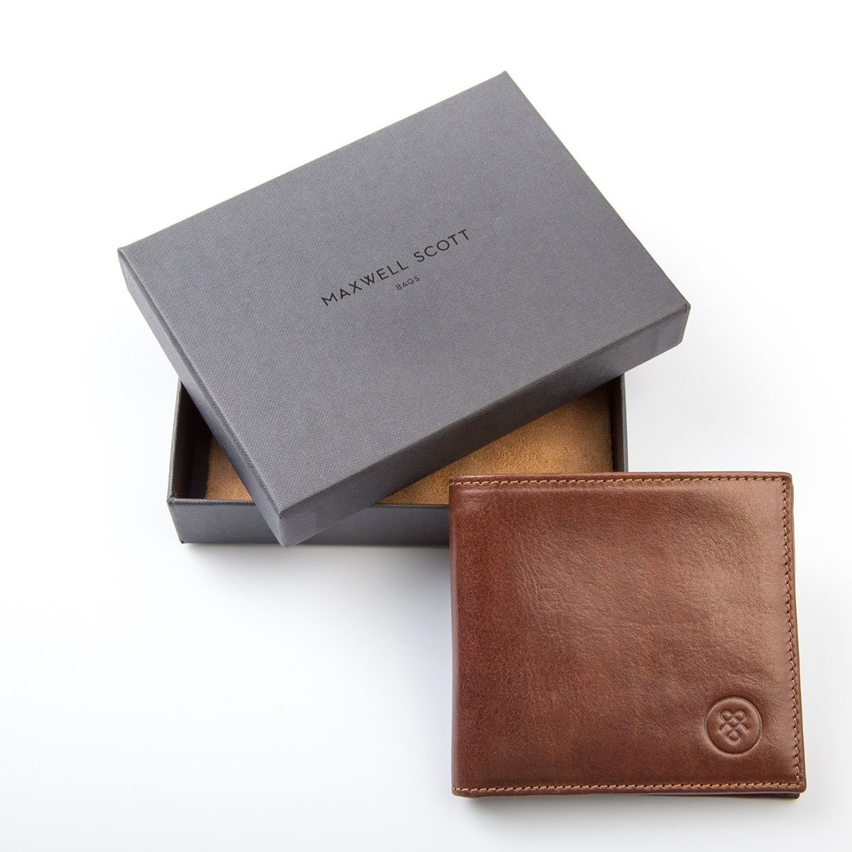 The Vittore Maxwell Scott Luxury Handcrafted Italian Mens Leather Wallet