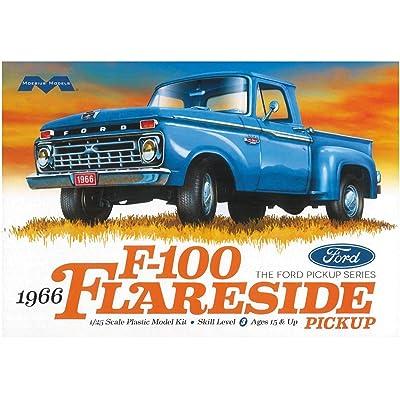 Moebius Models 1/25 Ford F-100 Flareside Pickup, MOE1232: Toys & Games