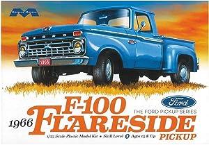 Ford 1966 F100 Flareside Pickup Truck 1/25 Scale Plastic Model Kit Moebius