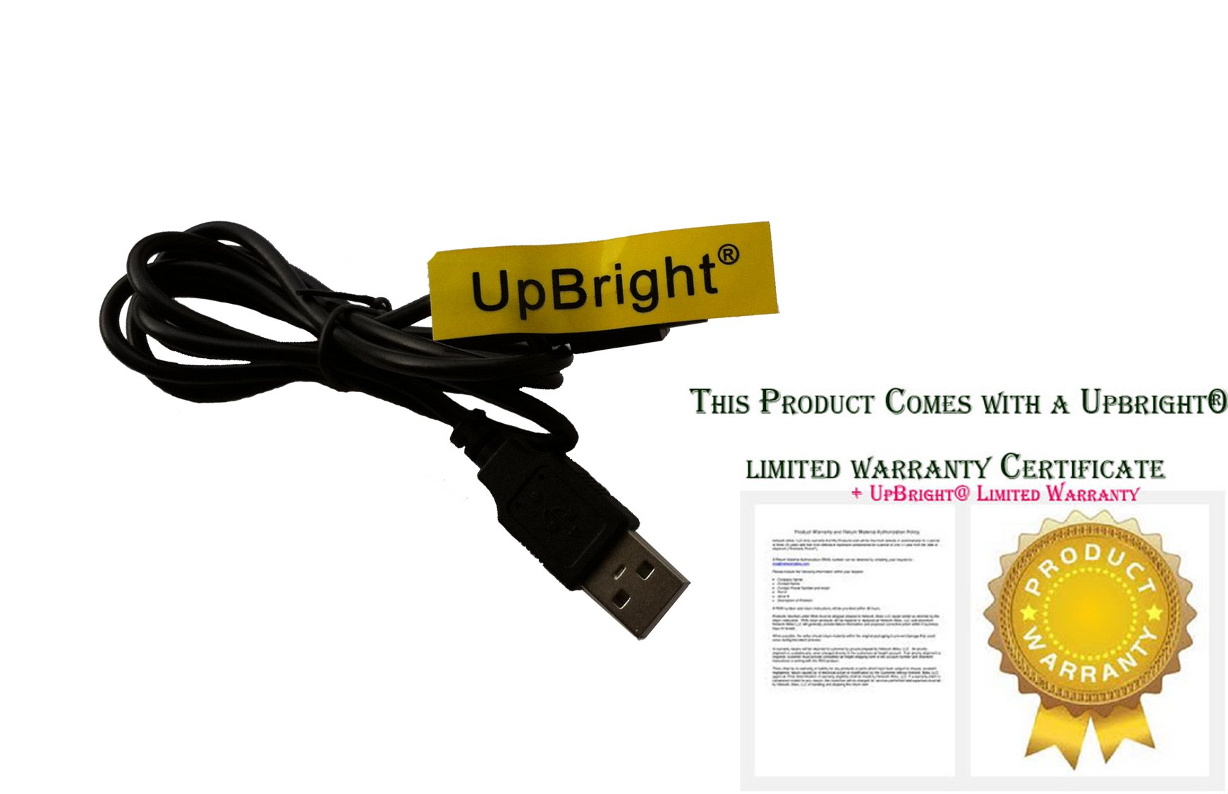 UpBright NEW USB Charging Cable PC Laptop DC Charger Power Cord For VTech 80-171650 80171650 Kidizoom Smartwatch DX, Vivid Violet (2nd Generation) by UPBRIGHT (Image #2)