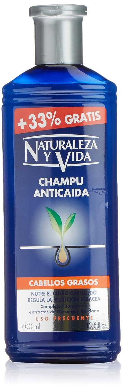 Naturaleza Y Vida Champú Anticaída Cabello Graso - 100 ml: Amazon.es: Belleza