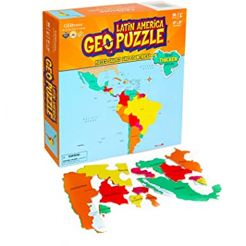 Geopuzzle Latin America: Amazon.co.uk: Toys & Games