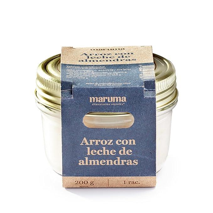 Cocina Maruma - Arroz con leche de almendras, 200 g