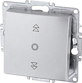 Persiana (Up Interruptor Interruptor para persiana – (Serie G1 Plata)