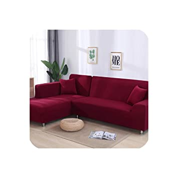 Amazon.com: 2 Pcs Covers for Corner Sofa L Shaped Sofa ...