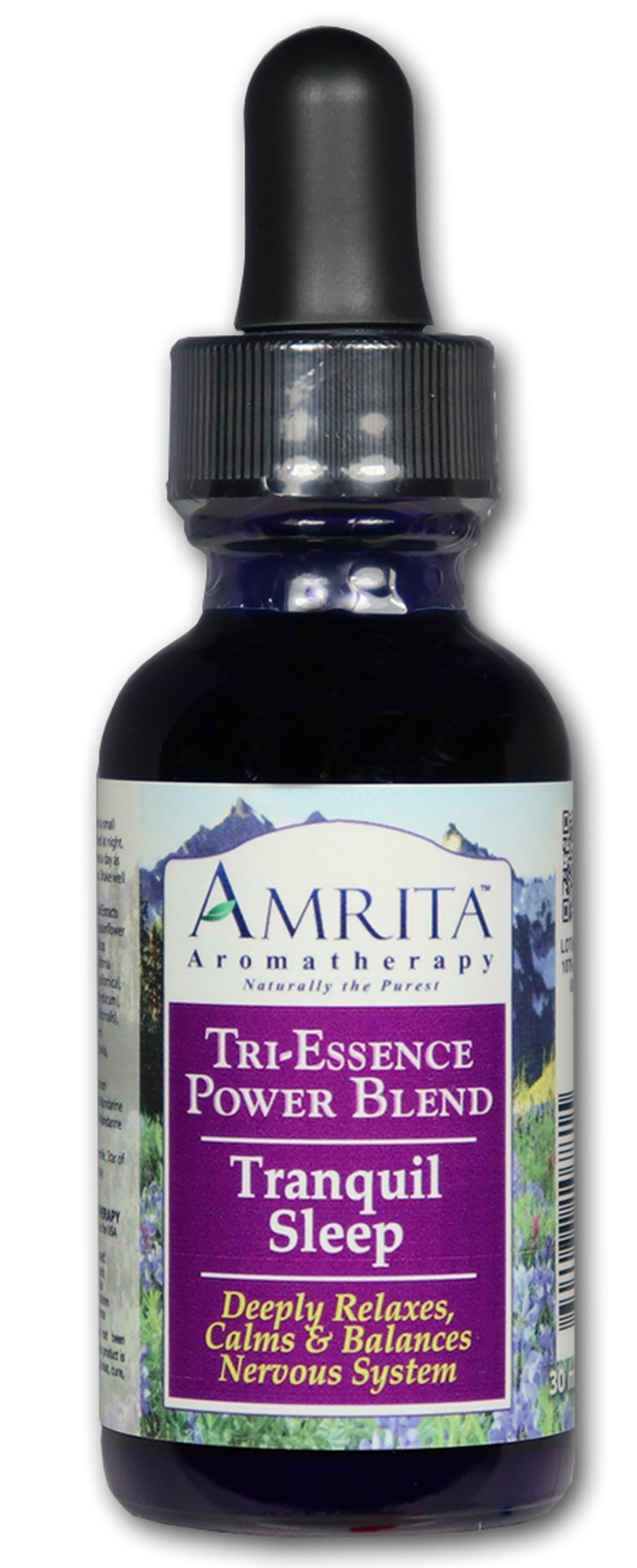 Tranquil Sleep Tri-Essence Power Blend; Blended With All Natural Herbal Extracts, FLower Essences & Essential Oils of Sweet Marjoram, Red Mandarin & Mandarin Petitgrain - SIZE: 240ML ( 8 FL. OZ)