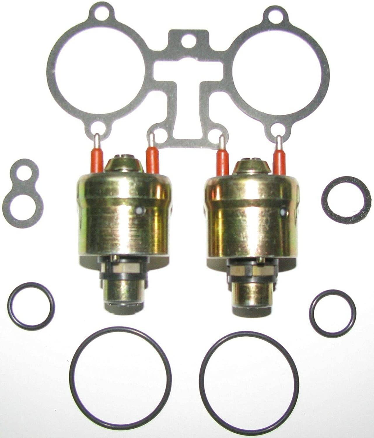 2 Pack THROTTLE BODY TBI FUEL INJECTOR SET FOR MerCruiser 305 350 5.0 5.7 852956A1 3855182