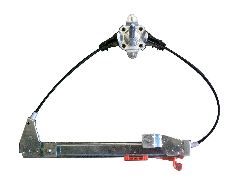 Manual Right Kremer WFT203-R Window Regulator Rear 5 doors