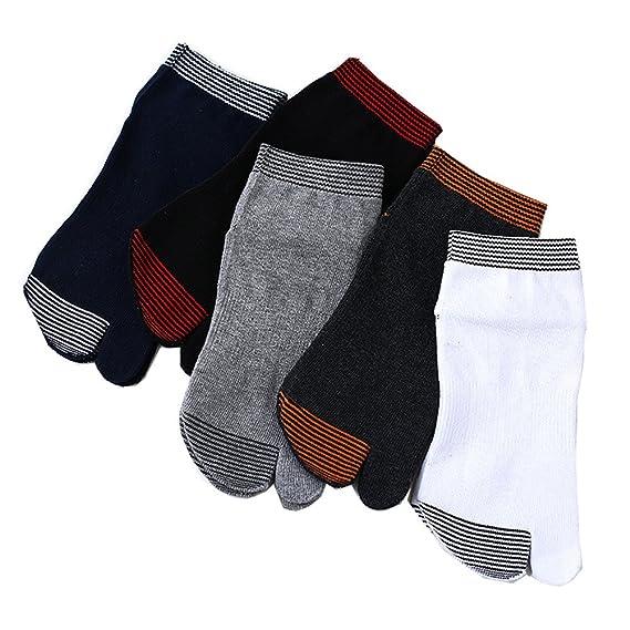 best service 1bdfe df2e2 Chaussettes Tabi Japonaise Homme En Coton Doux Et Confort Taille 37-44  Parfait Pour Sabot