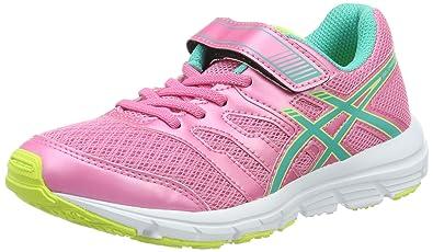 72cbcf77e6441 ASICS Gel-Zaraca 4 PS – Chaussures Unisexe Enfants - Rose - Rose Vert