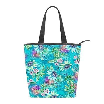 Womens Handbag Shopping Bag Ladies Patterned Canvas Beach Tote Bag