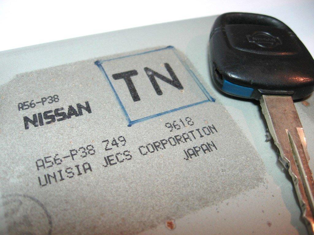 2000 Nissan Maxima 30l Pcm Ecu Ecm A56 P38 Z49 Engine 2001 Location Computer Key Immobiliser Automotive